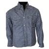 PIONEER SHIRT REINFORCED WITH PROTECTIVE ARAMID LINING - NAVY BLUE