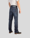 ROKKER REVOLUTION WATERPROOF JEANS - STONE WASH BLUE