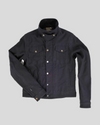 ROKKER BLACK JACKET - DENIM