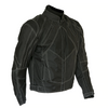 TEXTILE MOTORCYCLE JACKET WATERPROOF WITH VENTS & ARMOR
