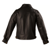 MEN'S LEATHER DENIM STYLE JACKET