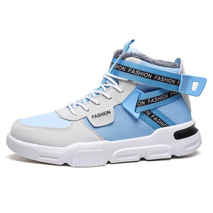 Cotton shoes men's high-top shoes