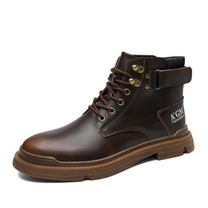 Cotton shoes Martin Stiefel men's shoes with cotton