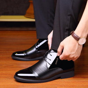 Business casual cotton shoes High top plus cotton shoes
