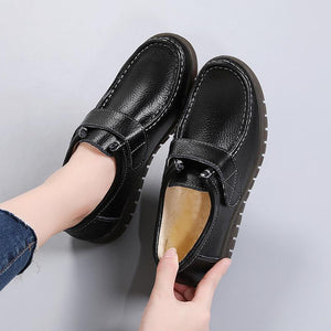 Women's single shoes as well as warm cotton casual shoes with Velcro fasteners