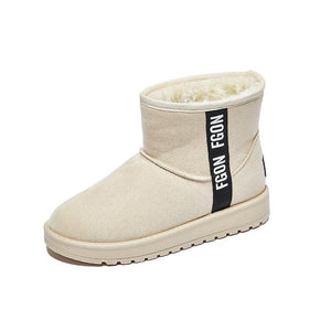 Women snowshoes ankle boots cotton boots