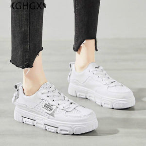 Women Shoes Platform Sneakers Leather Shoes Summer Women Casual Shoes Designer Sneakers