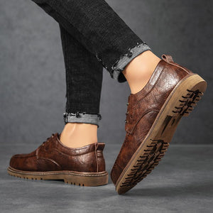 Men's shoes small leather shoes spring and autumn