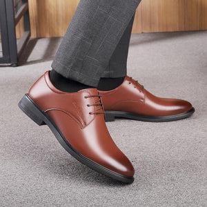 Men's shoes small leather shoes short boots casual