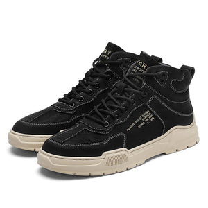 Men's shoes sneakers autumn high up