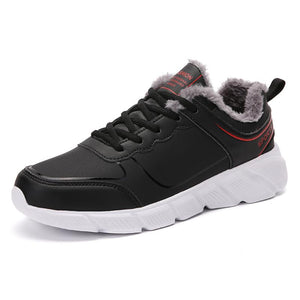 Men's shoes winter cotton shoes plus velvet plus cotton sports shoes warm shoes
