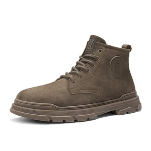 Men's boots men's shoes three-colored short tube
