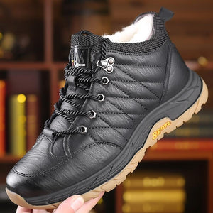 Men's casual high-top cotton shoes