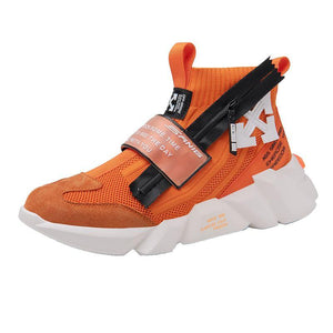 High top men's shoes for autumn MD soles made of rubber and plastic high quality sports shoes