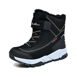 Children winter boots children snow boots cotton shoes