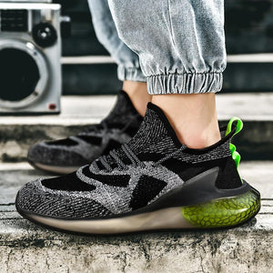 luminous gypsophila transparent bottom casual sports summer breathable shoes