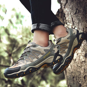 Men Hiking Shoes e Outdoor Sports Shoe Military Men Sneakers Lace Up Trekking Shoes