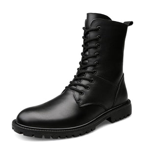 Martin boots men's cotton shoes high top single shoes