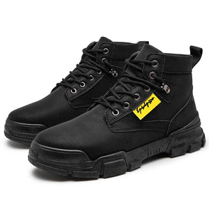 Martin boots men's fall retro casual high top men's boots