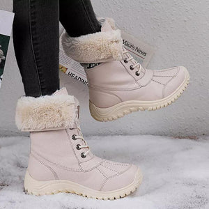 Winter Cotton Snowshoes for Women In Winter