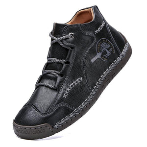 Lace-up shoes for spring and autumn wear casual men's shoes