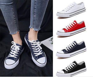 Woman Sneakers Fashion Canvas Shoes Men Trainers Shoes