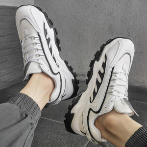 Summer plain color casual shoes sport shoes men shoes