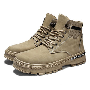 Sports shoes men's shoes high-top autumn and winter