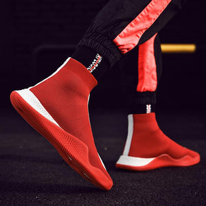 Trend Men Socks Sneakers Outdoor Travel Essentials Anti-skid Wear-Comfortable Casual Running Shoes
