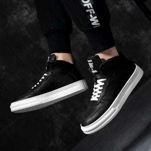 Sneakers Casual Men Shoes Pair of Color-Matched Shoes