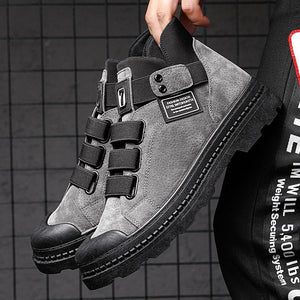 Sneakers Winter Plus Velvet Warm Men's Boots Hot Sale Casual Shoes Comfortable High Shoes Botas