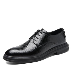 Four seasons shoes small leather shoes as well as cashmere leisure men