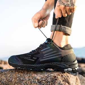 Waterproof hiking shoes trekking shoes men