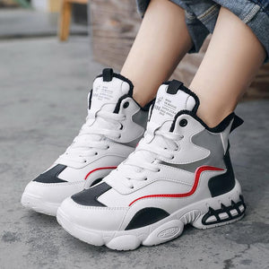 Winter high-top women's cotton shoes