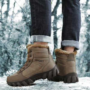 Winter snow shoes men's warm cotton shoes
