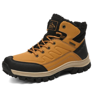 Winter warm cotton shoes for men