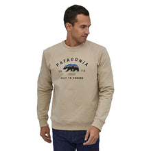 Patagonia Men's Arched Fitz Roy Bear Uprisal Crew Sweatshirt