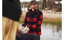 Fjallraven Wool Padded Canada Shirt Jacket