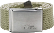 Fjallraven Canvas Belt with Stainless Steel Buckle