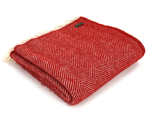 Tweedmill Fishbone Pure New Wool Throw