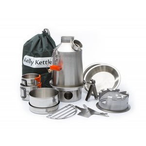 Kelly Kettle Ultimate 'Scout' Kit - Stainless steel, 1.2L