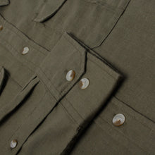 Fjallraven Hemp Ovik Travel Shirt
