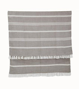 Weaver Green Oxford Stripe Blanket