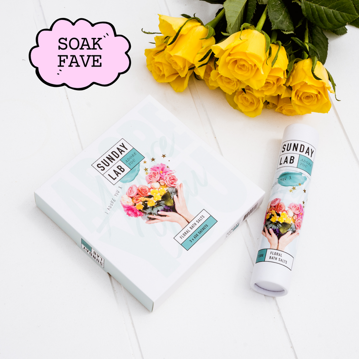 Adore You Floral Bath Soak