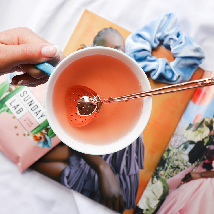 Rose Gold Tea Infuser