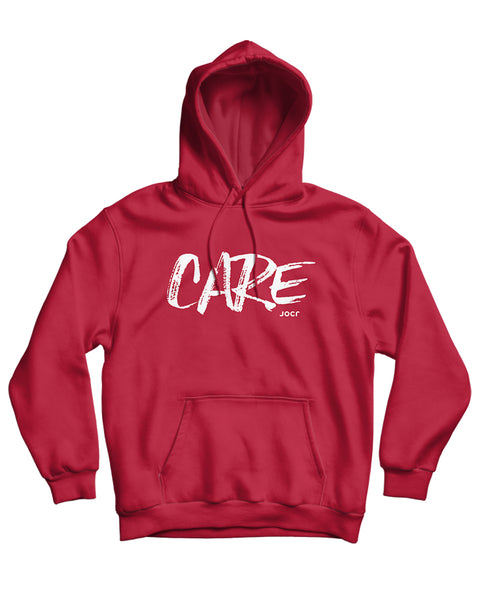 CARE Hoodie RED