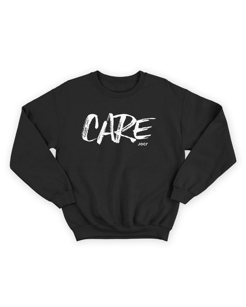 CARE Sweatshirt BLACK