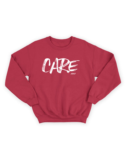 CARE Sweatshirt RED