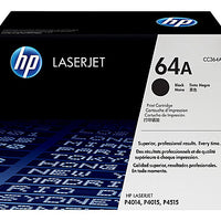 HP 64A - black - original - LaserJet - toner cartridge (CC364A)