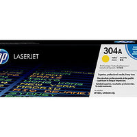 HP 304A - yellow - original - LaserJet - toner cartridge (CC532A)